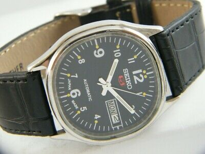 $ CDN25.61 • Buy OLD VINTAGE SEIKO 5 AUTOMATIC JAPAN MEN'S DAY/DATE WATCH 432b-a215186-5