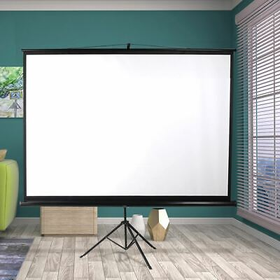 AU115.95 • Buy Portable Projector Screen 100 Inch Home Theater Cinema Tripod Stand Lightweight