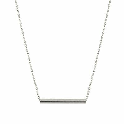 AU110 • Buy SARAH & SEBASTIAN Sterling Silver Fine Tube Necklace - One Size