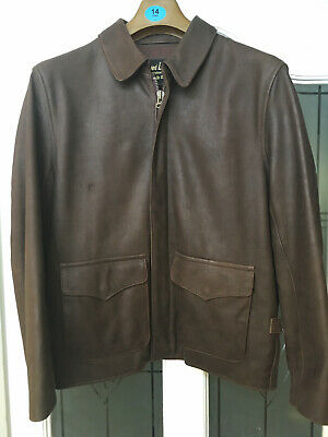 Indiana Jones Wested Raiders Of The Lost Ark Leather Jacket Cosplay • 120£