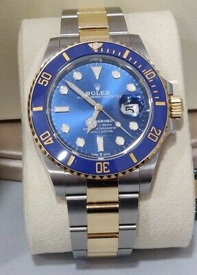 $ CDN22444.80 • Buy Rolex Submariner Date 126613LB Two Tone Blue Dial, 41mm, 2020