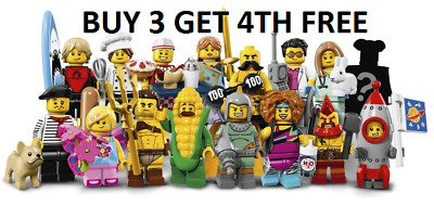 £11.99 • Buy LEGO Minifigures Series 17 71018 New Pick Choose Your Own BUY 3 GET 4TH FREE