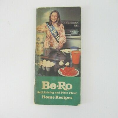 Be-Ro Recipe Book Latest 33rd Edition 1972 Home Recipes Vintage Cooking Pamphlet • 10.50£