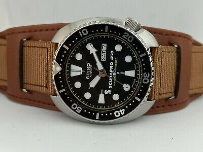 $ CDN306.41 • Buy Seiko Diver 6309-7040 Turtle Scubapro Mod Automatic Mens Watch 472964 M