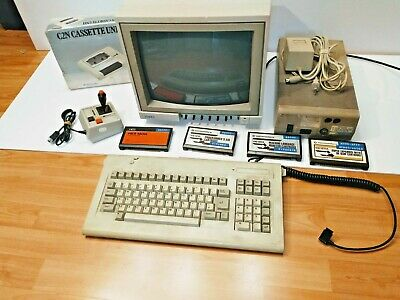 £490.08 • Buy Untested Commodore Equipment 1541 Single Drive Floppy Disk+color Monitor 1084s-p