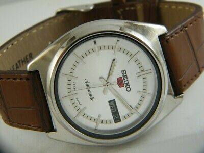 $ CDN25.61 • Buy OLD VINTAGE SEIKO 5 AUTOMATIC JAPAN MEN'S DAY/DATE WATCH 432b-a215150-5