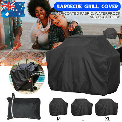 AU17.99 • Buy Waterproof BBQ Cover 2/4/6 Burner Outdoor Gas Charcoal Barbecue Grill Protector