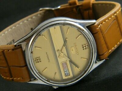 $ CDN1 • Buy OLD VINTAGE SEIKO 5 AUTOMATIC JAPAN MEN'S DAY/DATE WATCH 404c-a202036-5