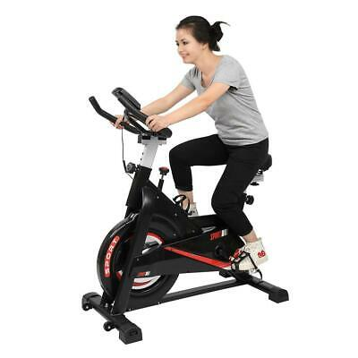 Exercise Bike Home Gym Spin Bicycle Cycling Cardio Fitness Training Indoor • 158£