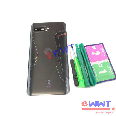 AU39.12 • Buy GLOSSY Black Battery Cover W/ Lens+Tools For Asus ROG Phone II 2 ZS660KL KQHB724