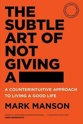AU19.95 • Buy The Subtle Art Of Not Giving A Fck F*ck By Mark Manson Paperback