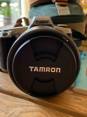 Tamron AF Aspherical LD 28-200mm 1:3.8-5.6 Lens With Canon EOS 500N Camera • 20£