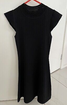 AU70 • Buy BNWT Size 6 Forever New Black Knitted Dress