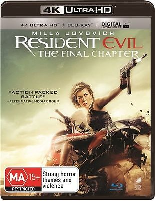 AU22.95 • Buy The Resident Evil - Final Chapter 4K Blu-Ray : NEW 4K Ultra HD