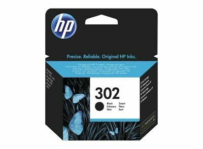 HP 302 Black Ink Cartridge - F6U66AE • 18.99£