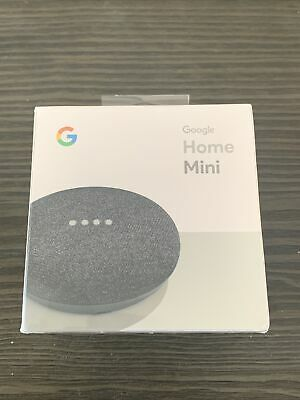 AU26.17 • Buy Google Home Mini Smart Assistant - Charcoal (GA00216-US)