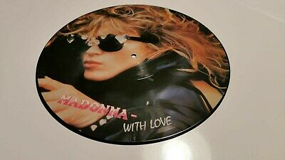 Madonna With Love 12  Picture Disc/record Interview Record  • 9£