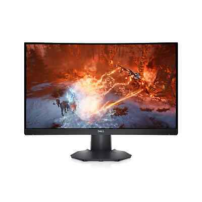 AU219 • Buy NEW Dell 24 Curved Gaming Monitor: S2422HG Full HD 1080p 165Hz AMD FreeSync