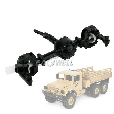 $9.21 • Buy Military Truck Crawler Front Rear Bridge Axle Replace Parts For WPL 1/16 RC Car