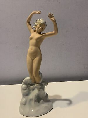 $ CDN125.31 • Buy Vintage Wagner And Apel Germany Porcelain Figurine  Naked Woman 10