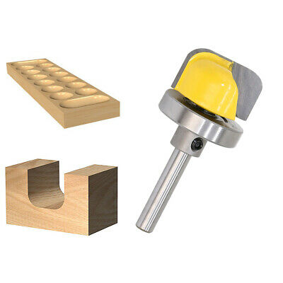 £10.09 • Buy Template Bowl Cutter Milling Woodworking Tool Router Bit Shank 1/4 8MM Boxes