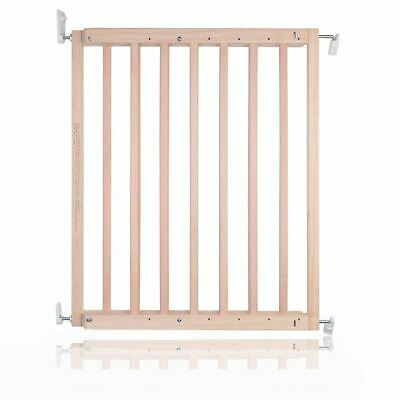 £29.95 • Buy Safetots Chunky Wooden Screw Fit Baby Safety Stair Gate 63.5cm - 105.5cm