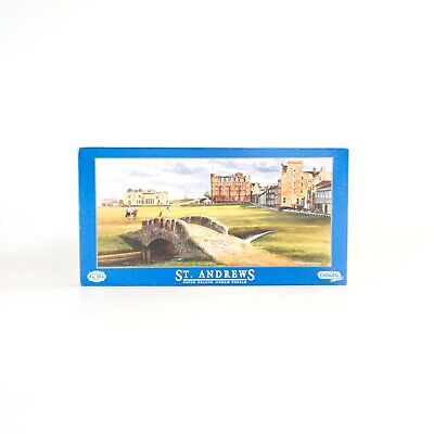 £18.95 • Buy Gibsons 636 Piece Series Jigsaw Puzzle St. Andrews G370 Terry Harrison Complete!