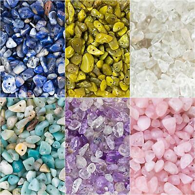 £2.19 • Buy Chip Nugget Gemstone Beads. 40g Pack (Approx 100 Beads). 5-8mm. 1mm Hole