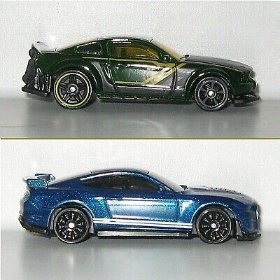 $3.45 • Buy Hot Wheels '05 Ford Mustang Gt Dream Garage & '20 Ford Shelby Gt500 Muscle Mania