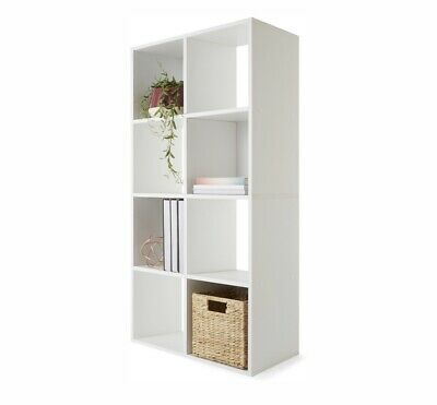 AU59 • Buy 8 Cube Storage Shelf DIY Cabinet Cupboard Organizer Bookshelf Display Unit White