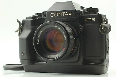 $ CDN858.22 • Buy [ Look ] CONTAX RTS III Zeiss Planar 50mm F1.4 T AEJ Lens From JAPAN
