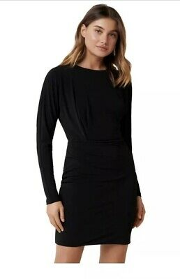 AU30 • Buy Forever New Cara Draped Mini Dress 6 BNWT