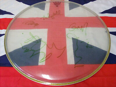 Oasis Signed 'remo' Drum Skin • 40£