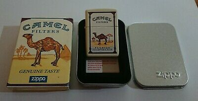 £245 • Buy Camel Florida Collector's Pack ZIPPO Lighter, Double Sided, C. 1998, Very Rare