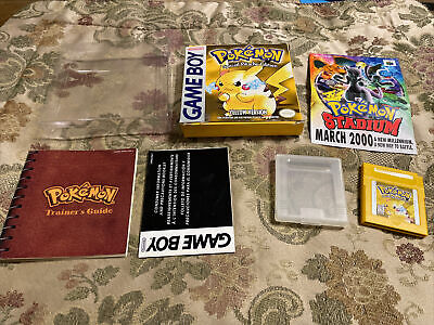$499.95 • Buy Pokemon Yellow Special Pikachu Edition - Authentic Complete In Box  CIB !!