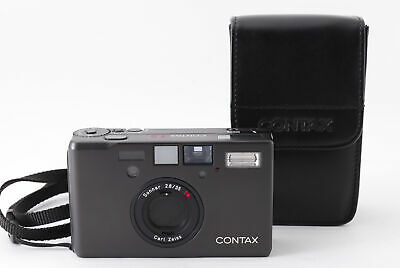 $ CDN3070.33 • Buy [Top MINT+Case] Contax T3 Titan Black 35mm Point & Shoot Film Camera From JAPAN