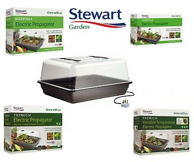 £32.99 • Buy Stewarts Electric Heated Propagator - Assorted Sizes And Designs
