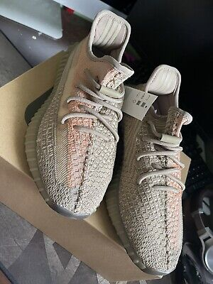 $ CDN191.74 • Buy Adidas Yeezy Boost 350 V2 Sand Taupe Size 8 DS BRAND NEW Bright Blue Royal Blue
