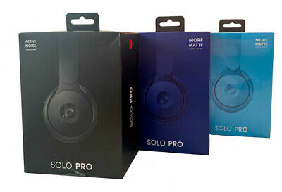 $ CDN169.28 • Buy NEW Beats Solo Pro Wireless Active Noise Cancelling On-Ear Headphones In Retail