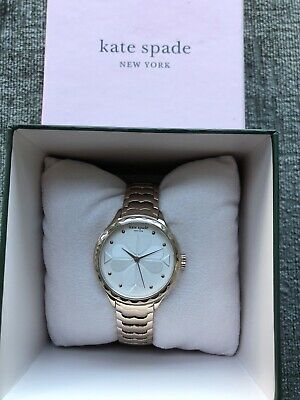 $ CDN86.43 • Buy Kate Spade New York Rosebank Ladies Rose Gold Scallop Watch - New In Box Gift