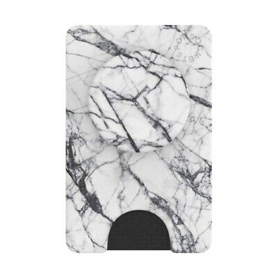 AU39.95 • Buy PopSockets PopWallet+ - Dove White Marble