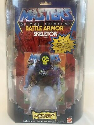 $90 • Buy Masters Of The Universe Battle Armor Skeletor Figure Commemorative Series 2