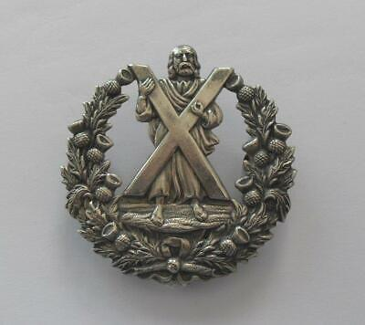 British Army Cap Badge. The Queen's Own Cameron Highlanders Glengarry. • 9.99£