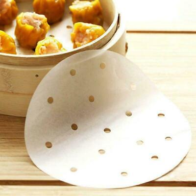 3-12 Inch Non Stick Perforated Parchment Paper Liners For Steaming Fryer K4S0 • 3.90£
