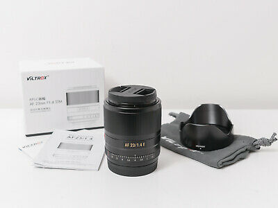 AU350 • Buy Viltrox 23mm F1.4 E AF Lens For Sony E-Mount ~As New Condition
