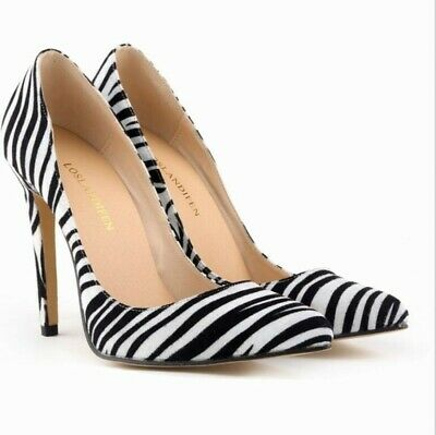 £32.92 • Buy Ladies Print Pointed Toe High Heels Stiletto Pumps Club Party Trend Shoes