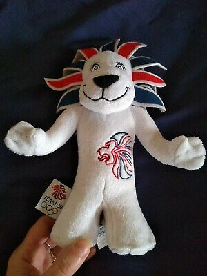 PRIDE The Lion Official Team GB 2012 Olympics Soft Toy Plush Mascot Collectable • 0.99£