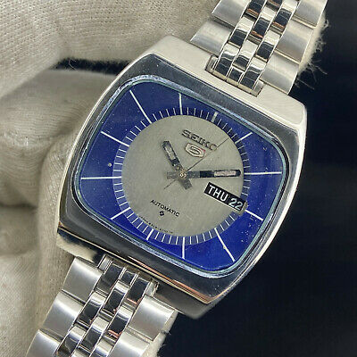 $ CDN36.23 • Buy Vintage Seiko 5 Automatic 17 Jewels Cal.6309A Day Date Men's Wrist Watch
