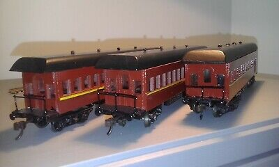 AU90 • Buy HO Resin Kit-Handmade FO Passenger Coaches X 3 [as Pictured]