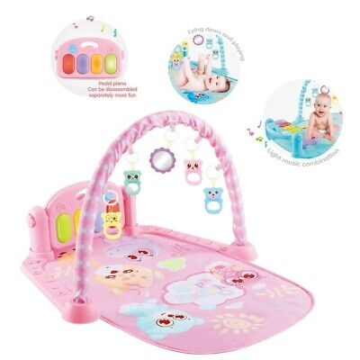 £19.88 • Buy Baby Game Pad Music Pedal Piano Fitness Rack Crawling Mat With Hanging Play Toy